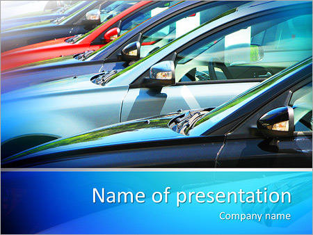 Parking Powerpoint Template Backgrounds Google Slides Id