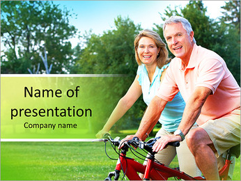 Cycling Together PowerPoint Template