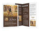 Walk With Dog Brochure Templates