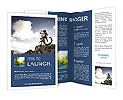 Mountain Bicycle Brochure Templates