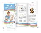 Dog With Baby Brochure Templates