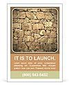 Stone Wall Les clichés des annonces publicitaires