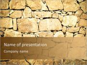 Stone Wall PowerPoint Template
