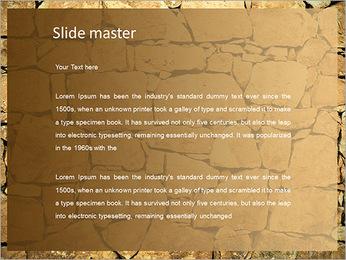 Mur en pierre Modèles des présentations  PowerPoint - Diapositives 2