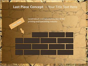 Mur en pierre Modèles des présentations  PowerPoint - Diapositives 26