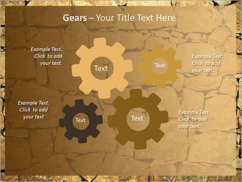 Mur en pierre Modèles des présentations  PowerPoint - Diapositives 27