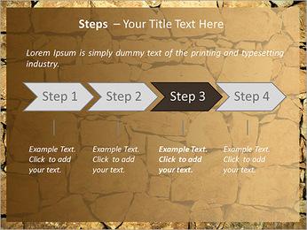 Mur en pierre Modèles des présentations  PowerPoint - Diapositives 4