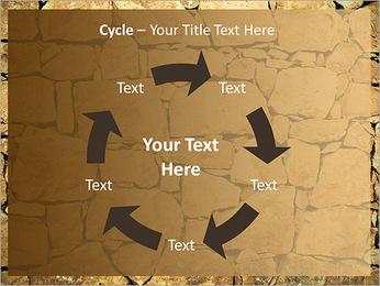 Mur en pierre Modèles des présentations  PowerPoint - Diapositives 42