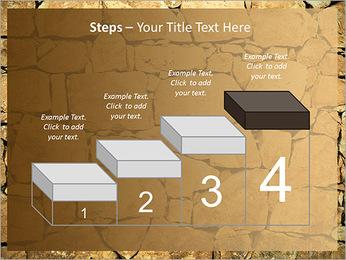 Mur en pierre Modèles des présentations  PowerPoint - Diapositives 44