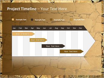 Mur en pierre Modèles des présentations  PowerPoint - Diapositives 5
