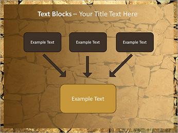 Mur en pierre Modèles des présentations  PowerPoint - Diapositives 50