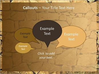 Mur en pierre Modèles des présentations  PowerPoint - Diapositives 53