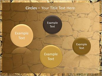 Mur en pierre Modèles des présentations  PowerPoint - Diapositives 57