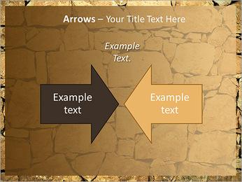 Mur en pierre Modèles des présentations  PowerPoint - Diapositives 70
