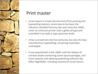 Mur en pierre Modèles des présentations  PowerPoint - Diapositives 76