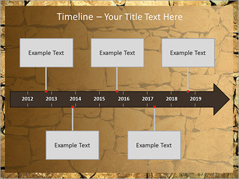 Mur en pierre Modèles des présentations  PowerPoint - Diapositives 8