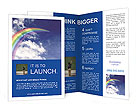 Rainbow Brochure Template