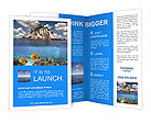 Uninhabited Island Brochure Templates