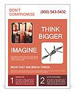 Man In Prison Flyer Template