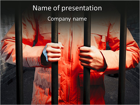 Legal powerpoint templates backgrounds google slides themes man in prison powerpoint template toneelgroepblik Image collections