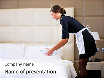 Chambermaid PowerPoint Template