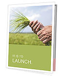 Wheat In Hand Presentation Folder