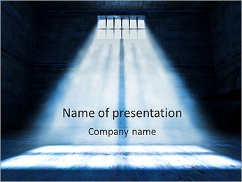 Dark Room PowerPoint Template