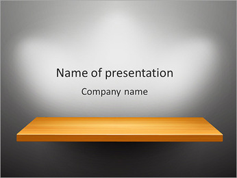 Shelf PowerPoint Template