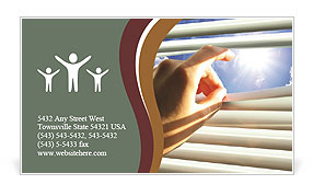 Sunny Day Business Card Template