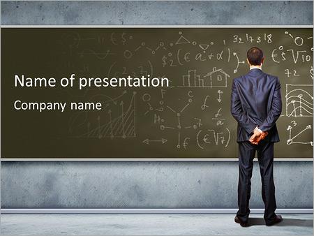 Mathematics Powerpoint Template Backgrounds Google Slides Id