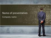 Wiskunde Sjablonen PowerPoint presentatie