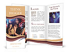 Women Dancing Brochure Templates