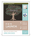 Brand Tree Poster Template