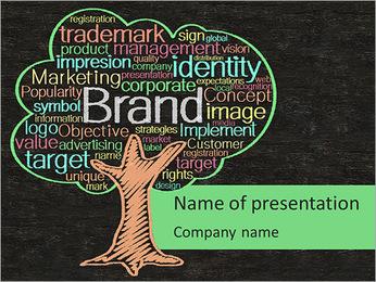 Brand Tree PowerPoint Template