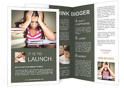 Difficult Homework Brochure Template
