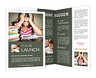 Difficult Homework Brochure Template