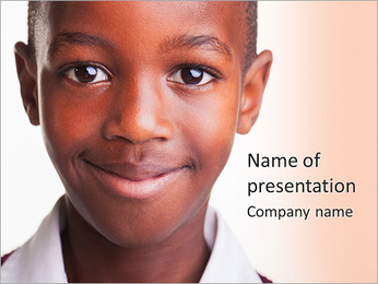 Smiling Child PowerPoint Template