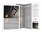 Pain In Ankle Brochure Template