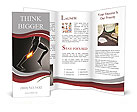 Knee Paint Brochure Template