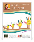 Smiling Palms Flyer Templates