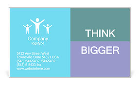 Boy's Dream Business Card Templates