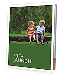 Kids Outdoors Presentation Folder