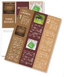 Wooden Timber Newsletter Template