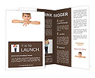 Boy With Smile Brochure Template