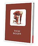 Sportsman Muscles Presentation Folder