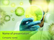 Spécialiste de laboratoire Modèles des présentations  PowerPoint