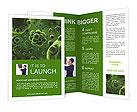 Green Micro Organism Brochure Templates