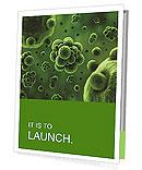 Green Micro Organism Presentation Folder