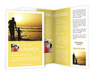 Father With Son Brochure Templates