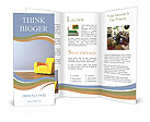 Yellow Armchair Brochure Templates